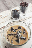 Coffee jelly Stock Photography