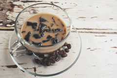 Coffee jelly Stock Image