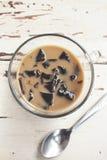 Coffee jelly Stock Photo