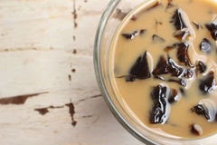 Coffee jelly Stock Images