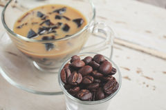 Coffee jelly Royalty Free Stock Images