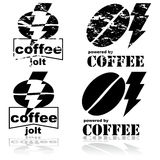 Coffee jolt Royalty Free Stock Images