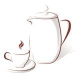 Coffee kit Stock Image