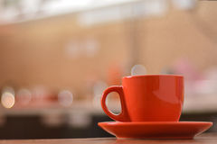Coffee in kitchen. Coffee in the kitchen with some lovely bokeh to spice up every day Royalty Free Stock Photo