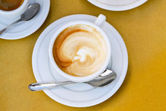 Coffee late Royalty Free Stock Images