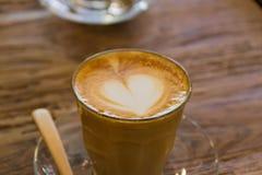 Coffee late art Stock Photography