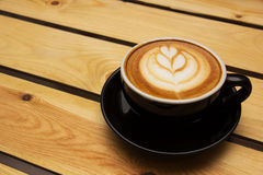 Coffee Latte. A coffee latte art Stock Images