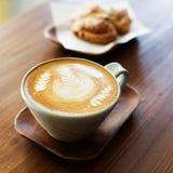 Coffee latte art Royalty Free Stock Photo