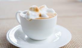 Coffee latte art Stock Photography