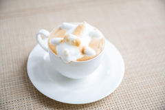 Coffee latte art Royalty Free Stock Images