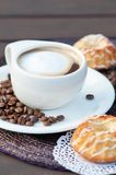 Coffee Latte Cup Stock Photography