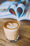 Coffee latte Stock Photography