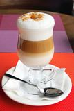 Coffee Latte in glass Royalty Free Stock Photos
