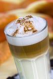 Coffee Latte Macchiato in a glass Stock Photography