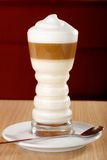 Coffee Latte macchiato Stock Images