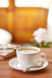 Coffee latte still life Royalty Free Stock Image