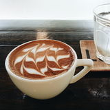Coffee latte. Time Stock Images