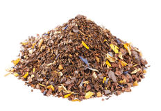 Coffee-like, caffeine-infused mate and red rooibos Stock Images