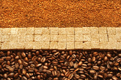 Coffee line Royalty Free Stock Image