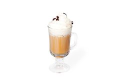 Coffee with liqueur Stock Photos