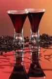 Coffee liquor or wine Stock Photos