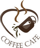 Coffee Logo Royalty Free Stock Photo