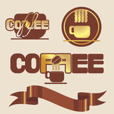 Coffee logo Royalty Free Stock Image