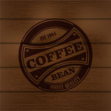 Coffee logo emblem retro design template Stock Photo