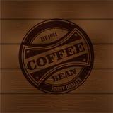 Coffee logo emblem retro design template Stock Photo