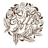 Coffee logo Stock Image