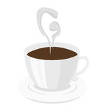 Coffee Logo Stock Image