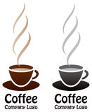 Coffee Logo stock illustration