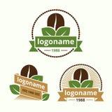 Coffee logo Stock Photo