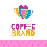 Coffee logo set Stock Photography