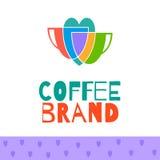 Coffee logo set Stock Images