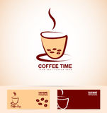 Coffee logo Stock Images