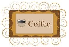 Coffee logo Royalty Free Stock Photography