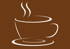 Coffee logo. Very nice coffee logo for bussiness Royalty Free Stock Image