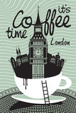 Coffee london Stock Photography