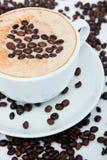 Coffee with love Stock Photos