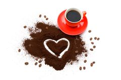 Coffee love Royalty Free Stock Image