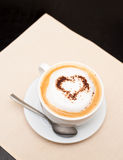 Coffee with love Royalty Free Stock Images
