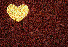 Coffee with love. Royalty Free Stock Photo