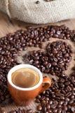 Coffee love Stock Image