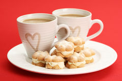 Coffee with love Royalty Free Stock Image