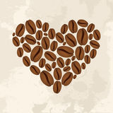 Coffee love concept royalty free illustration