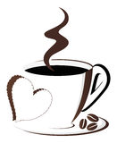 Coffee love Stock Images