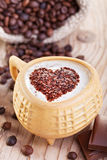 Coffee with love Stock Photos