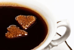 Coffee of Love Stock Photography