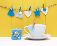 Coffee for a loved one or sweetheart Royalty Free Stock Photo